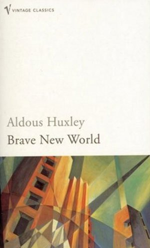 Book cover of Brave New World by Aldous Huxley