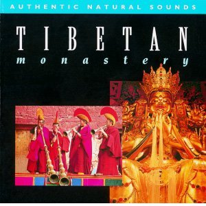"Cover of CD ""Tibetan Monastery"" - Natural sounds for meditation"