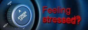 Are you feeling stressed? Is your dial switched to 'high' too?